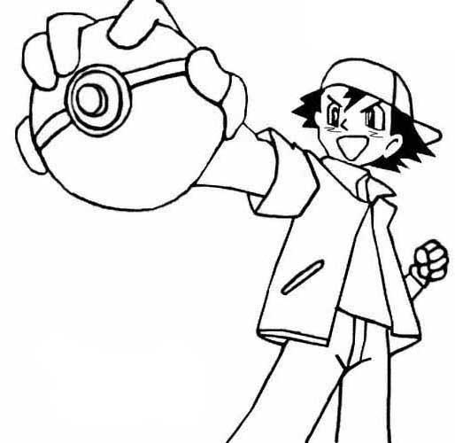 Dibujos de Pokemon para pintar